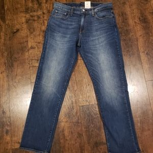 Lucky Brand Mens 221 Stephan Straight Blue Jeans